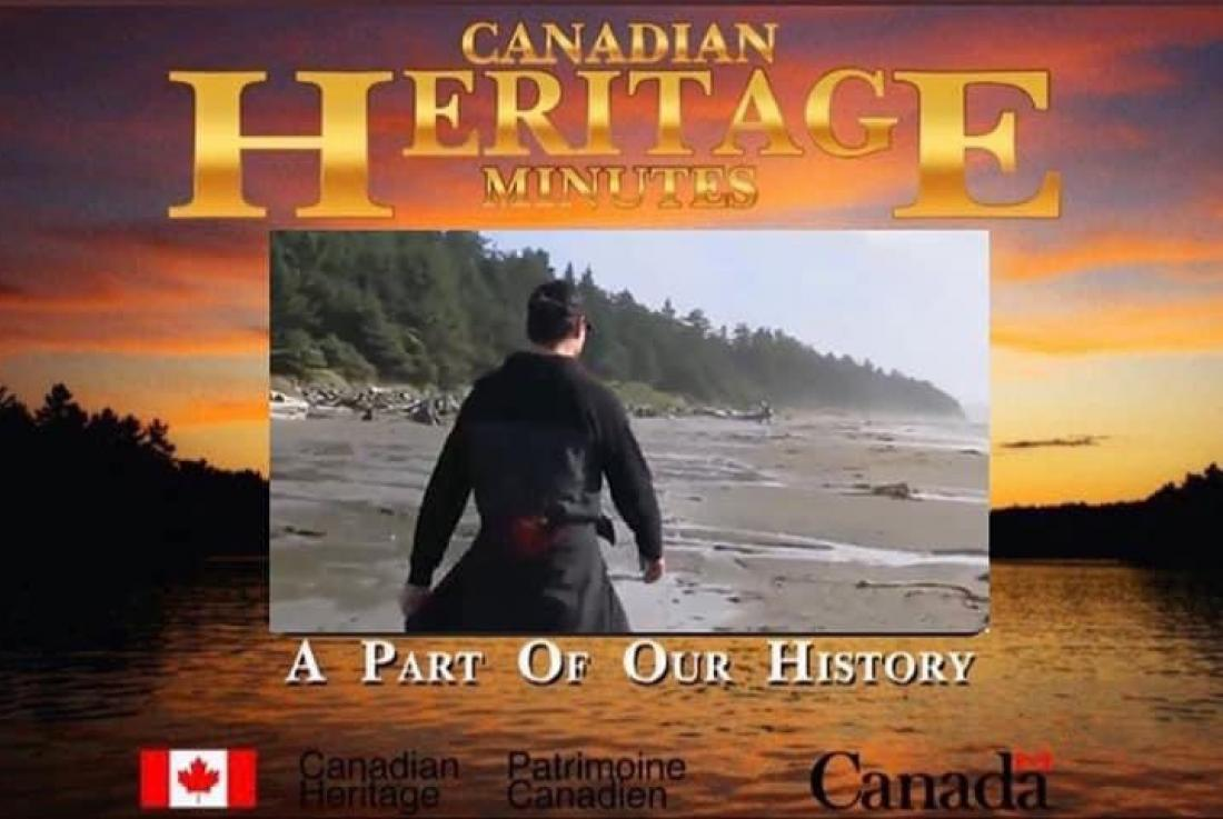 Meme taken with permission from Twitter account of Terrell Tailfeathers, of Prime Minister  Trudeau in Tofino, B.C. Sept. 30, 2021, on 1st  National Day of Truth & Reconcilation